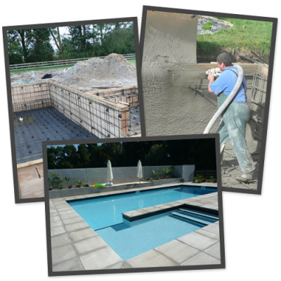 Construction pool builders waikato for Concrete pool builders